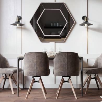 фактура и мебель в комнате